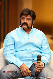 Shriya Saran Nandamuri Balakrishna at Gautamiputra Satakarni Team Press Meet Stills  0041