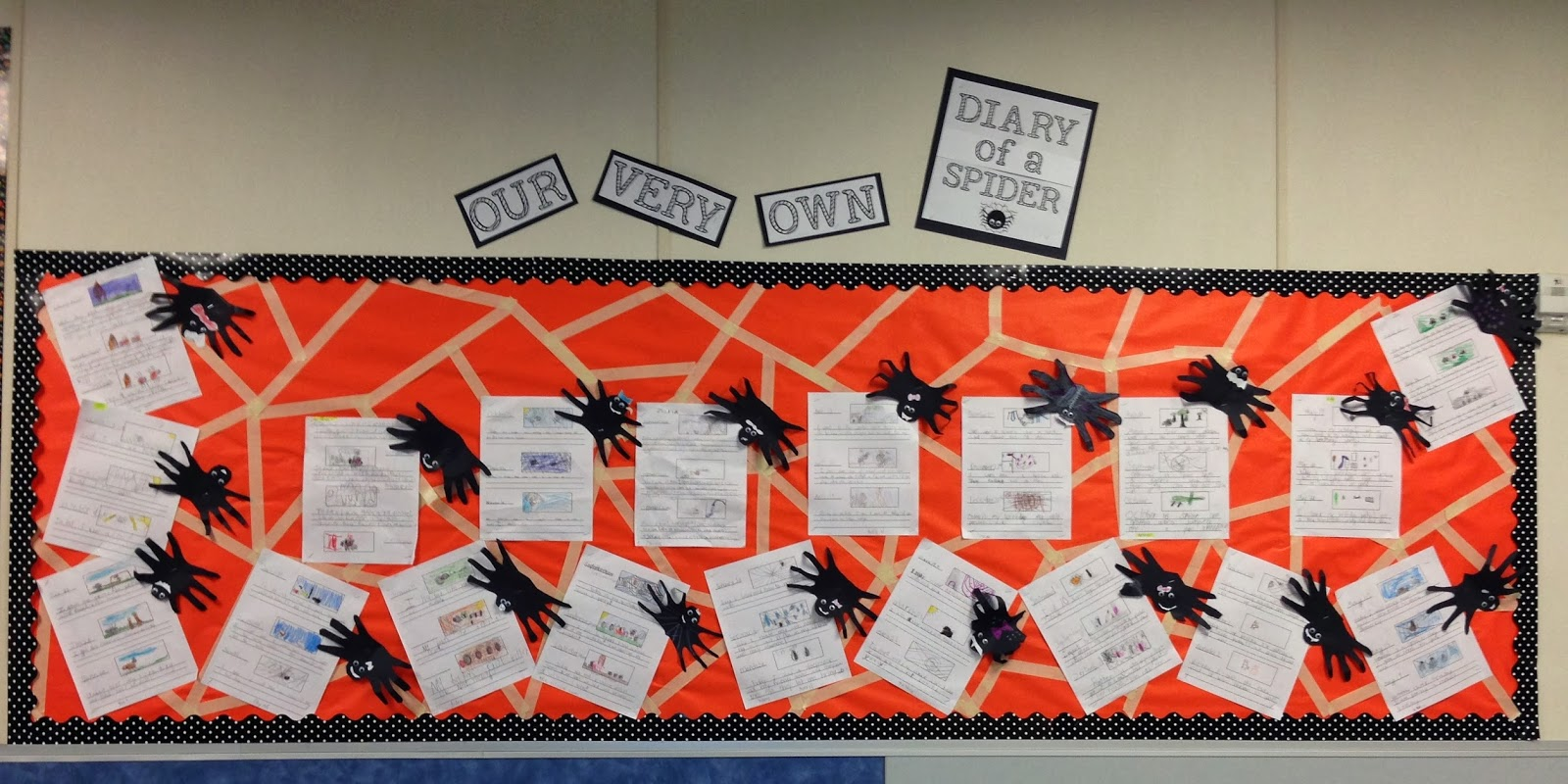 Mrs Megown S Second Grade Safari Diary Of A Spider
