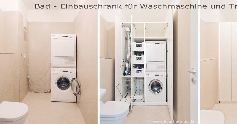einbauschrank schrank auf ma einbauschrank bad waschmaschine und trockner. Black Bedroom Furniture Sets. Home Design Ideas
