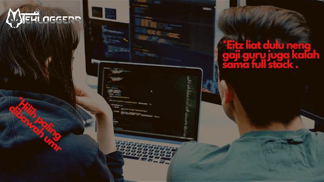 Gaji Programmer Di Indonesia Naik Dan Makin Tinggi? 2019