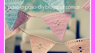 Banderines tejidos - diy