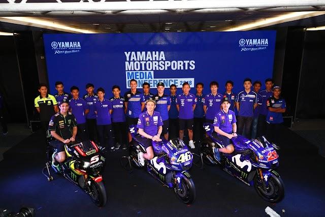 Pembalap Yamaha Indonesia Diperkenalkan ke Dunia Bersama Rossi dan Pembalap Dunia Lainnya
