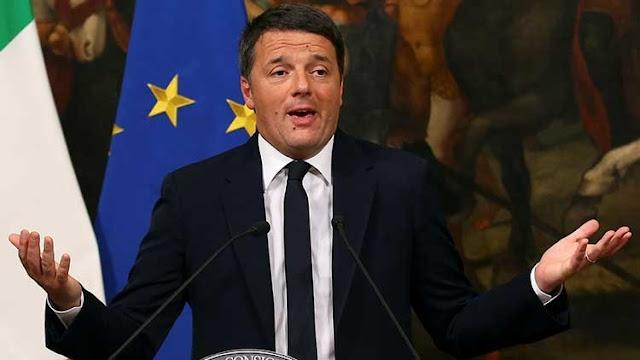 Dimite el primer ministro de Italia, Matteo Renzi
