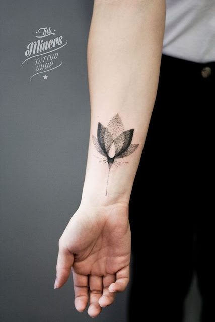Beautiful Lotus Tattoos For Girls