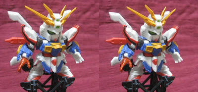 3D Stereogram : God Gundam
