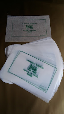 mantelina pasteleria -papel parafinado pasteleria