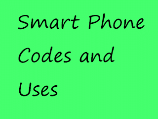 codes and use of smart phone