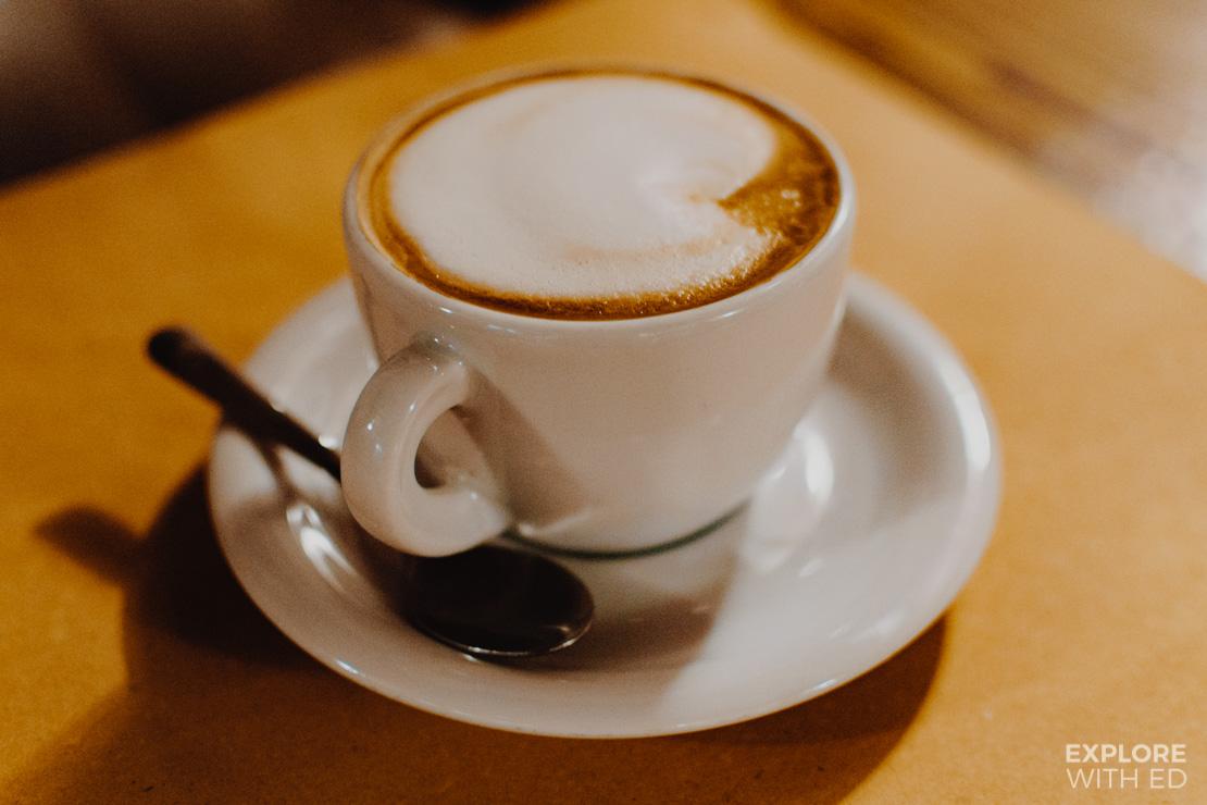 Cappuccino in Pane Vino e San Daniele