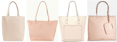 One of these totes is from Gigi New York for $350 and the other three are under $60. Can you guess which one is the more expensive tote? Click the links below to see if you are correct!