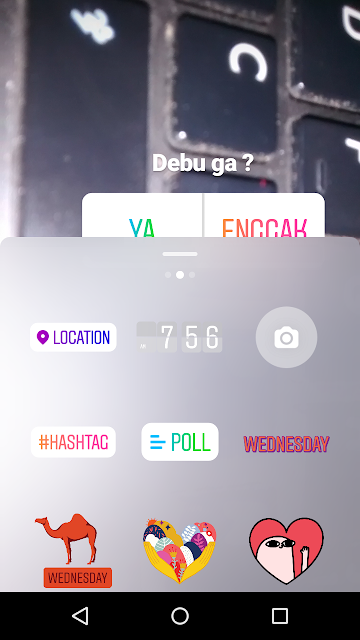 Cara Membuat Polling DI Instagram Stories