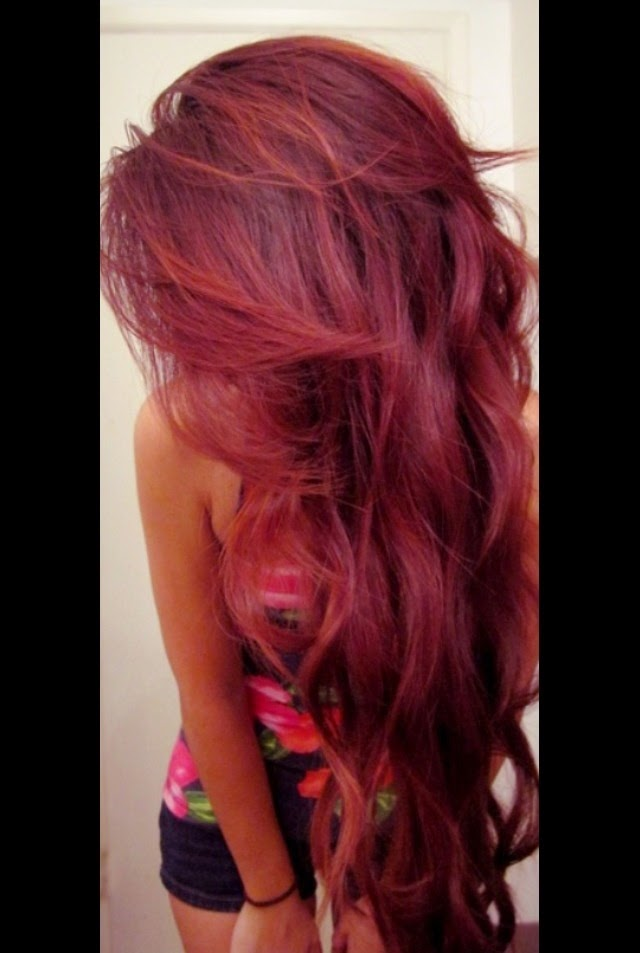 1000 Ideas About Wine Red Hair On Pinterest Wine Red Hair ...