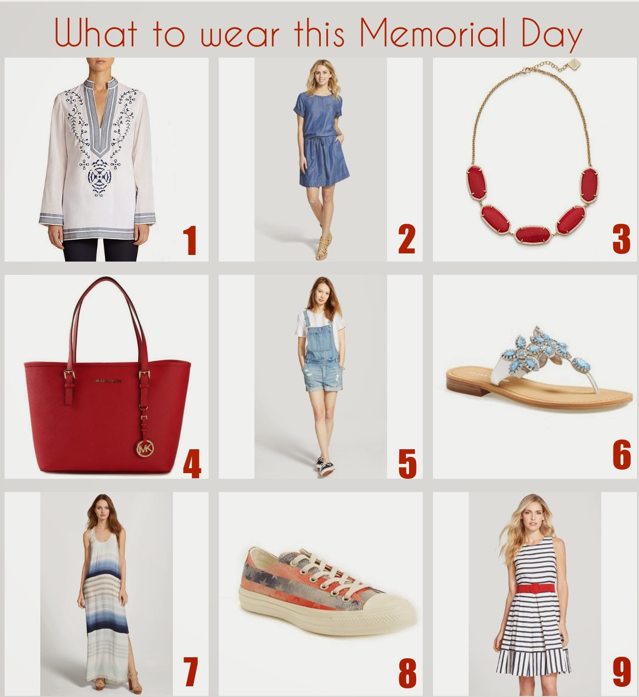 What to Wear during Memorial Day Weekend