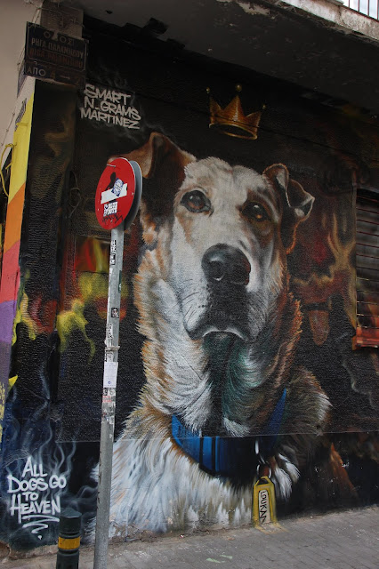 Travel Greece. Street Art in Athens. Part 5 The Touristin