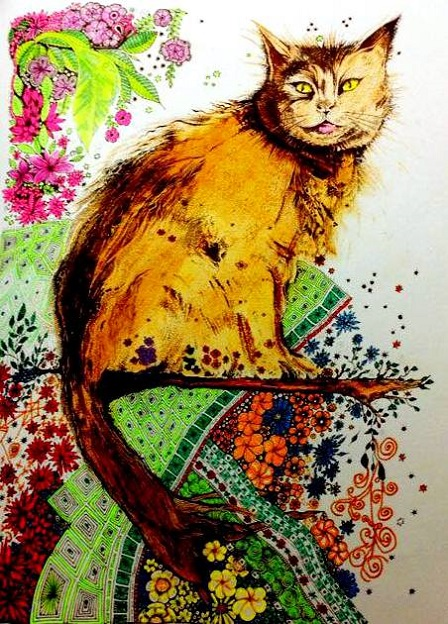 The Book Anns Doodles Artist Ann Marie Irvine Media Colleen Colored Pencilsmarkersgel Pensoil Pastelcat