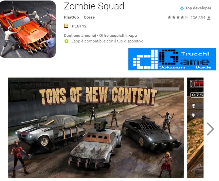 Trucchi Zombie Squad Mod Apk Android v1.0.12