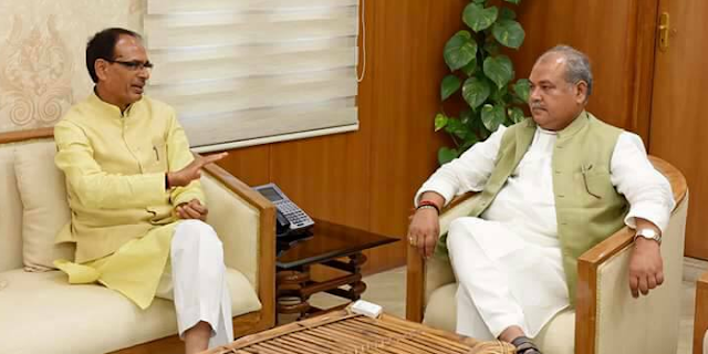 शिवराज से मिलकर दिल्ली निकल गए नरेंद्र सिंह तोमर, अमित शाह का बंगाल दौरा रद्द | MP NEWS