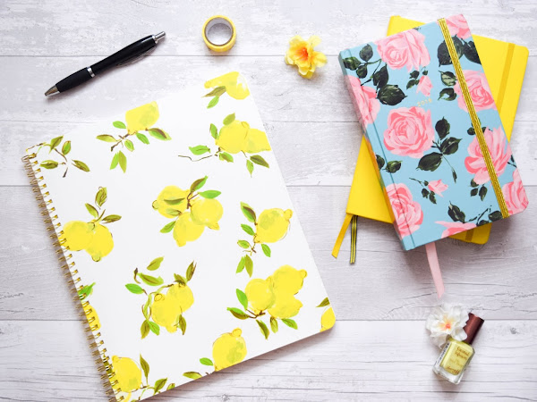 Stationery | Kate Spade Lemon Spiral Notebook