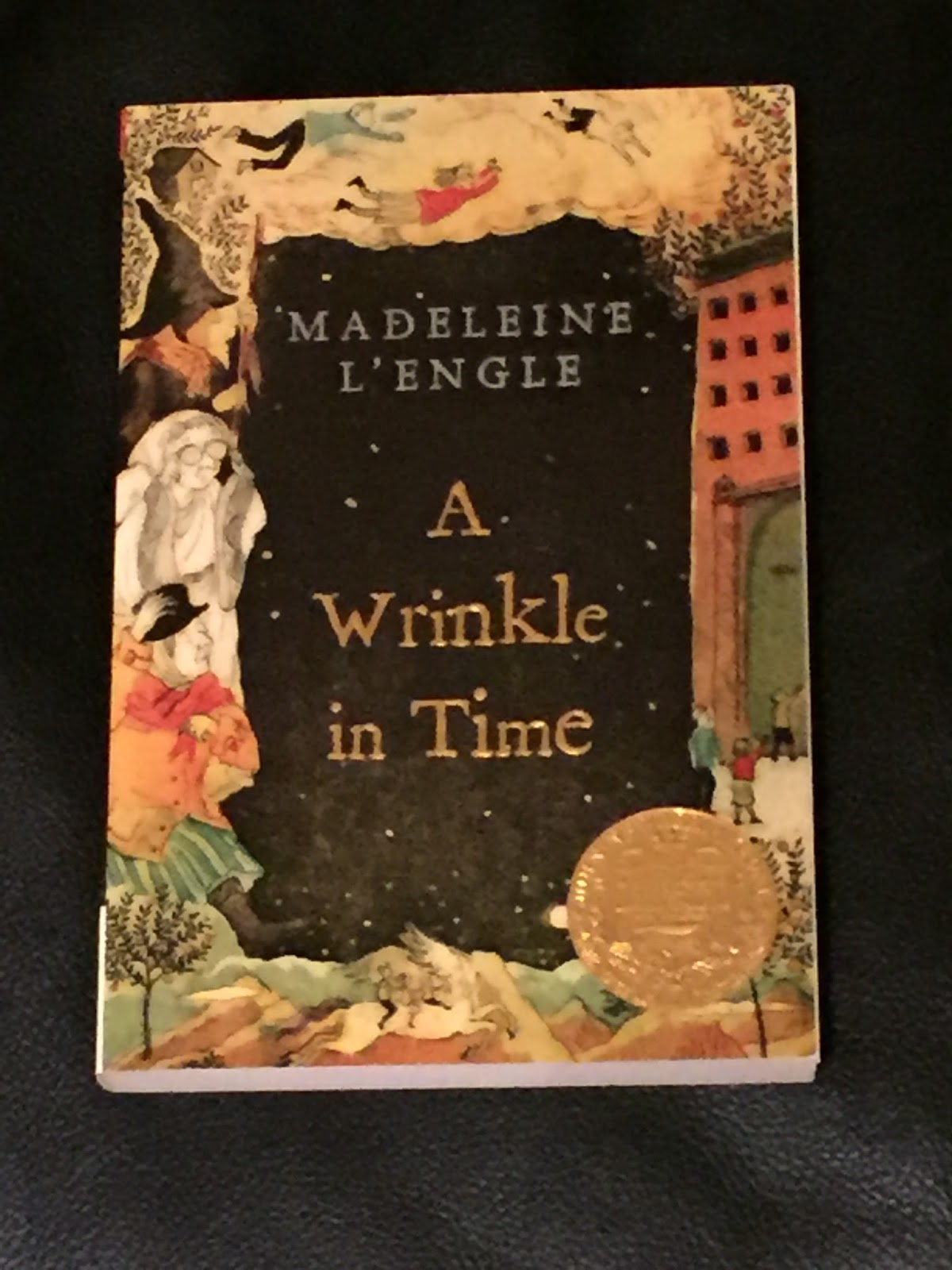 madeleine lengles a wrinkle in time A wrinkle in time it was a dark and stormy night meg murry, her small brother charles wallace, and her mother had come down to the kitchen for a midnight snack when they were upset by the arrival of a most disturbing stranger.