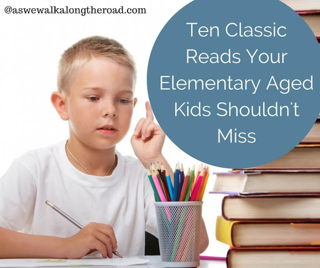 Classic kids books for elementary aged kids
