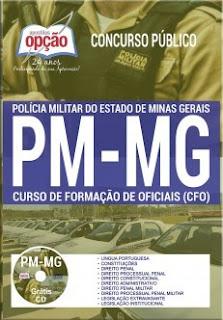Apostila da PMMG PDF CFO CD Grátis, CFO 2018