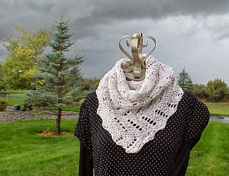 Kriskrafter Free Knitting Pattern Definitely Diagonal Scarf