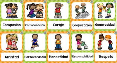 Imágenes educativas de los valores