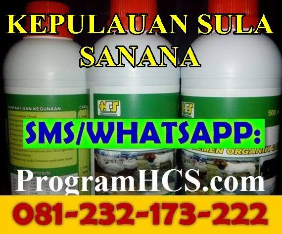 Jual SOC HCS Kepulauan Sula Sanana