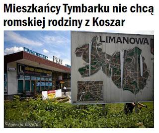 http://krakow.wyborcza.pl/krakow/1,44425,20711562,mieszkancy-tymbarku-nie-chca-romskiej-rodziny-z-koszar.html