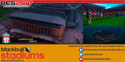 PES 2017 Stadium Anfield Road by BlackBull Stadiums