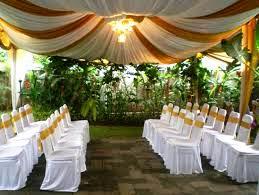 dekorasi kartini: dekorasi tenda pernikahan di rumah