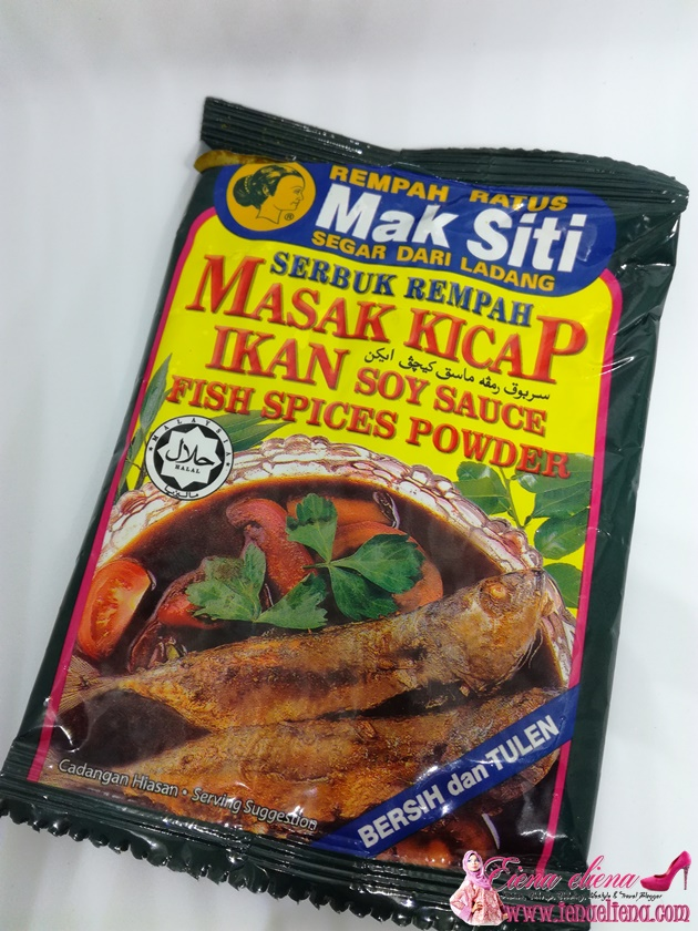 Resepi Ikan Masak Kicap Berempah Mak Siti