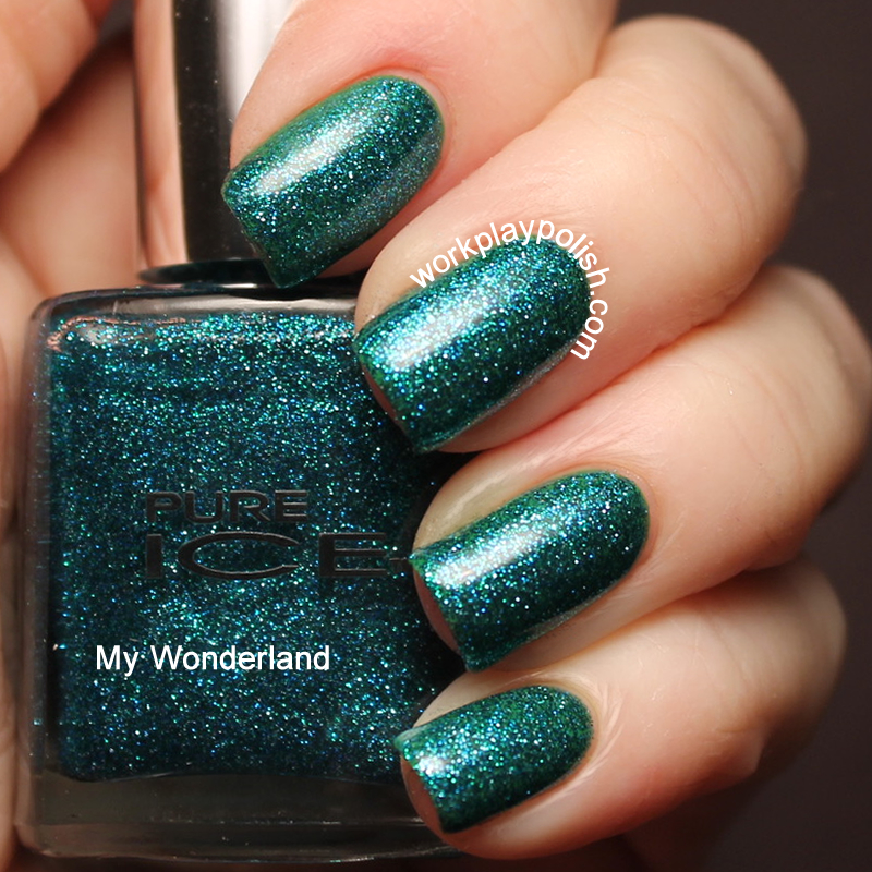 Pure Ice My Wonderland Swatch (work / play / polish)