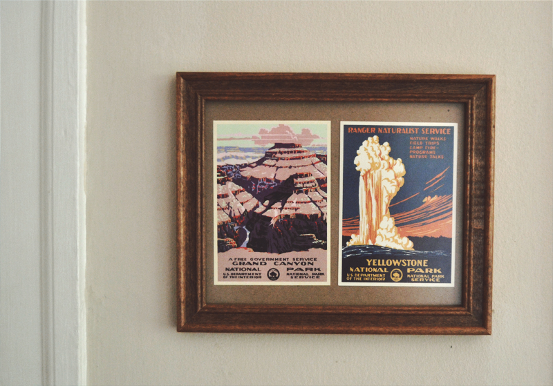 The Flying Clubhouse: Mountains and Teacups // postcards