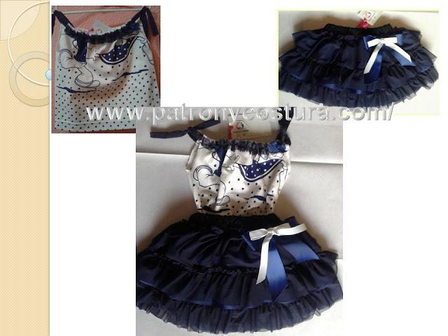 www.patronycostura.com/falda volantes y pillow shirt