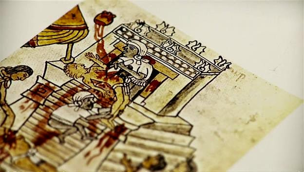 The sacrificial performance of the aztec empire