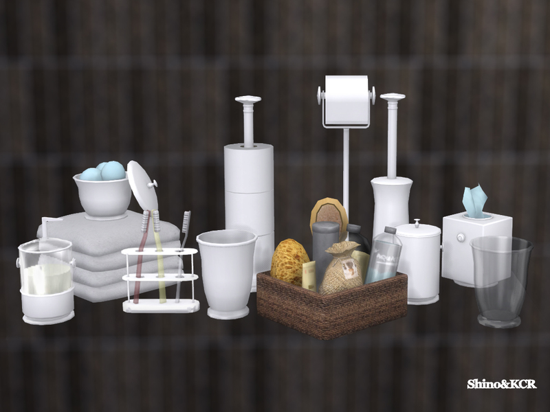 The toilet is perhaps one of the most important features of your bathroom and selecting one for a bathroom shouldn't be an afterthought. Sims 4 CC's - The Best: Decor Bathroom Pottery Barn by ...
