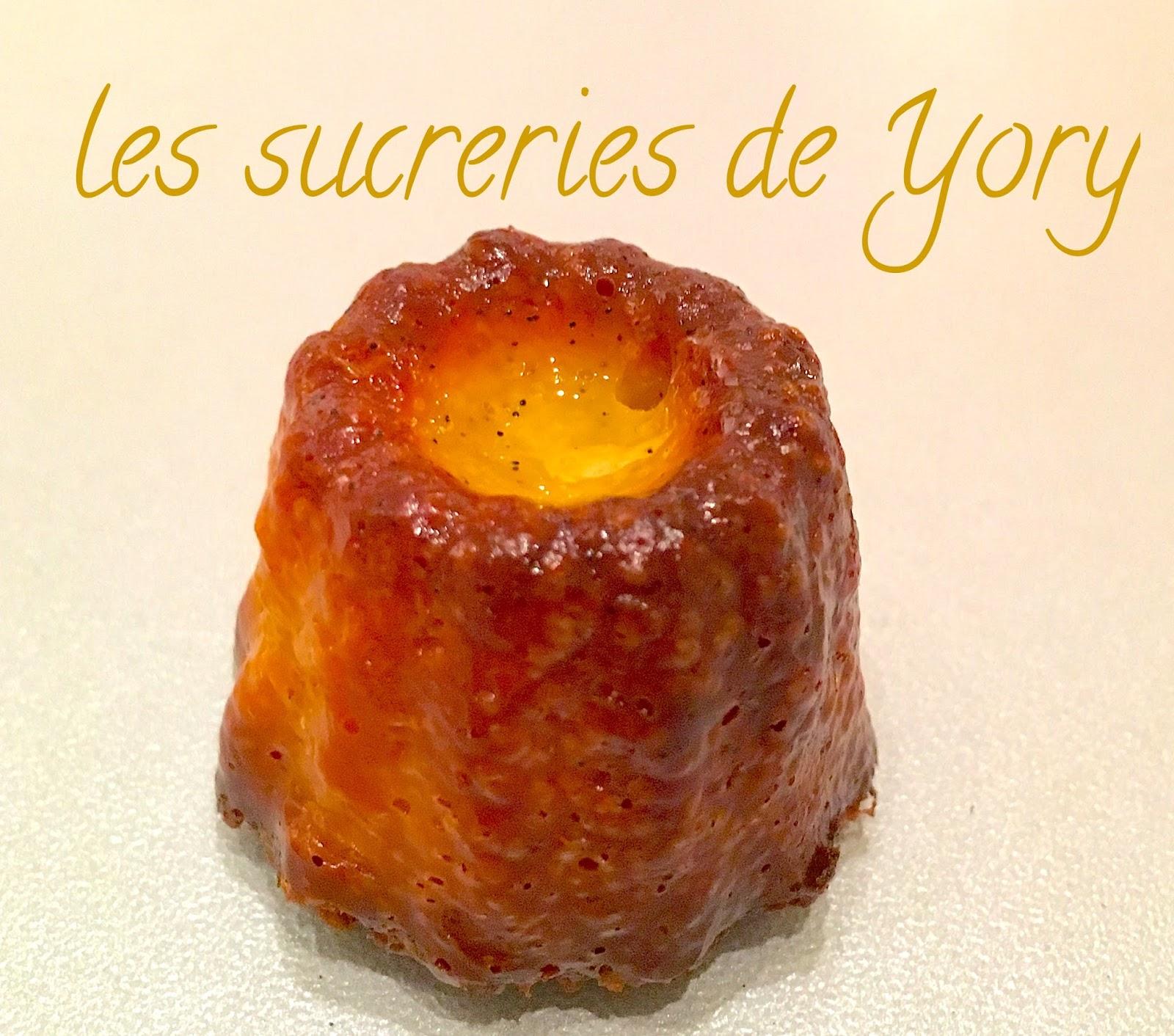Les sucreries de yory cannel s bordelais - Canneles bordelais recette originale ...