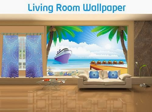 Bring Life To The Walls With Living Room Wallpapers 5