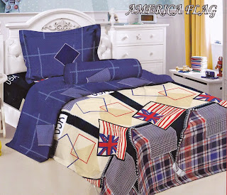 Sprei Kintakun Luxury Kids America Flag