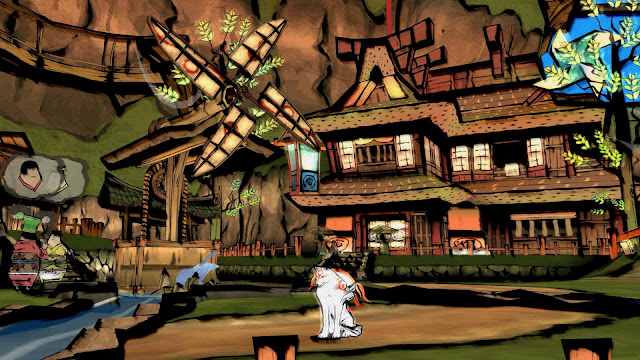Ōkami HD on PlayStation 4