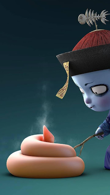 Bộ ảnh chibi ma cương thi cực đẹp và chất - VanThangIT.Com