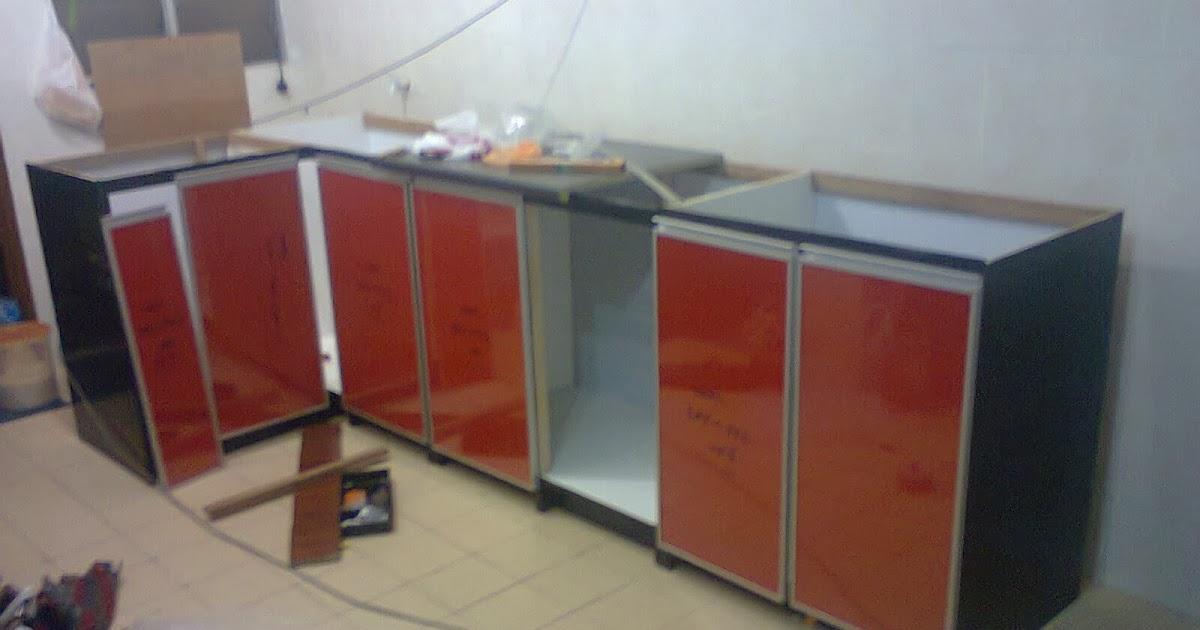 Kabinet Dapur Pasang Siap Sendiri Pagar Rumah
