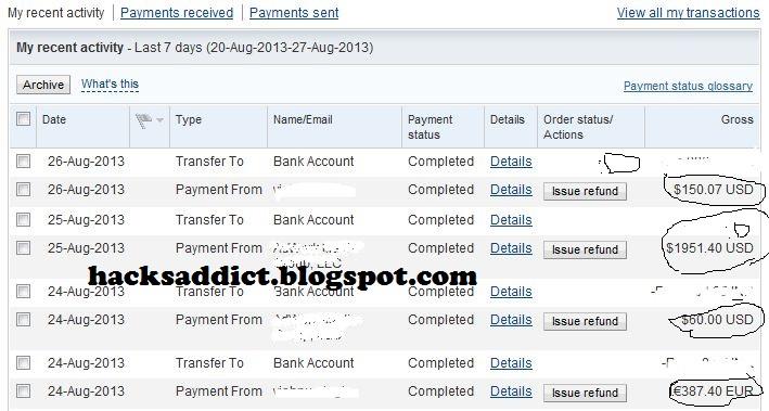 Paypal Account Generator 2019