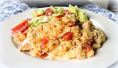 Bacon Ranch Chicken & Rice