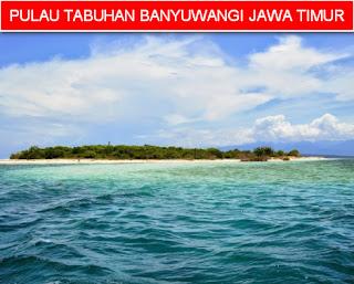 Pulau tabuhan banyuwangi jawa timur indonesia