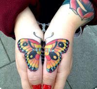 красивые татуировки бабочек