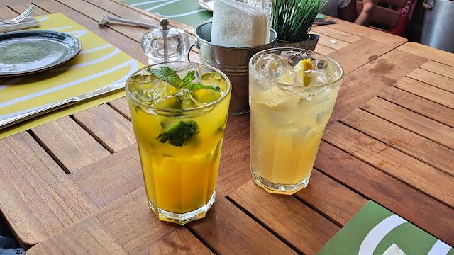 Pure Passion and the Spicy Mango Mint, Backyard Restaurant, Salmiya, Kuwait