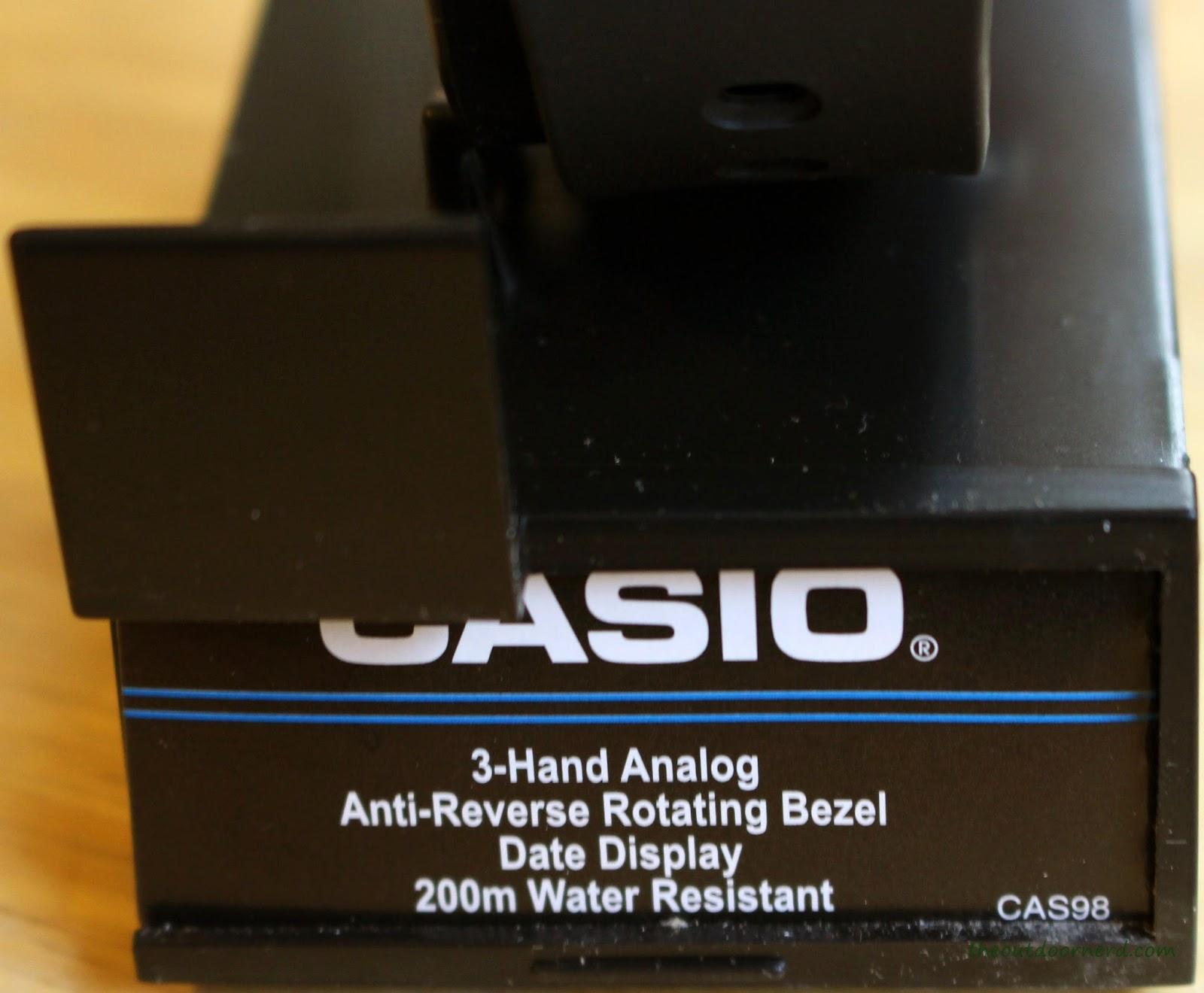 Casio MDV106-1A Diver's Watch: In Box 4