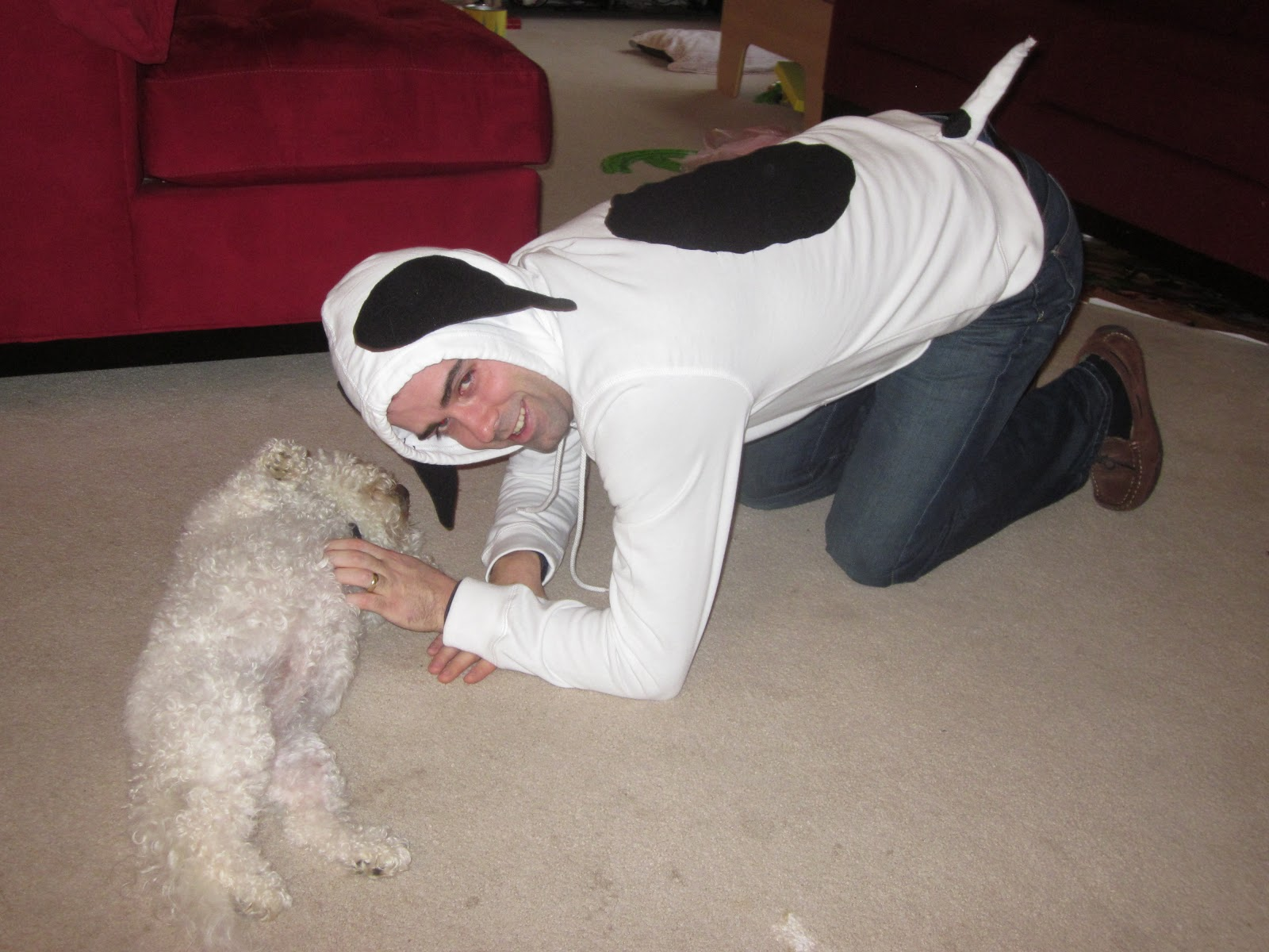 3629bcba4a Because I Said So (and Other Mommyisms)  DIY Snoopy Costume