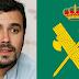 Alberto Garzón, indignado por un 'me gusta' de la Guardia Civil en Twitter
